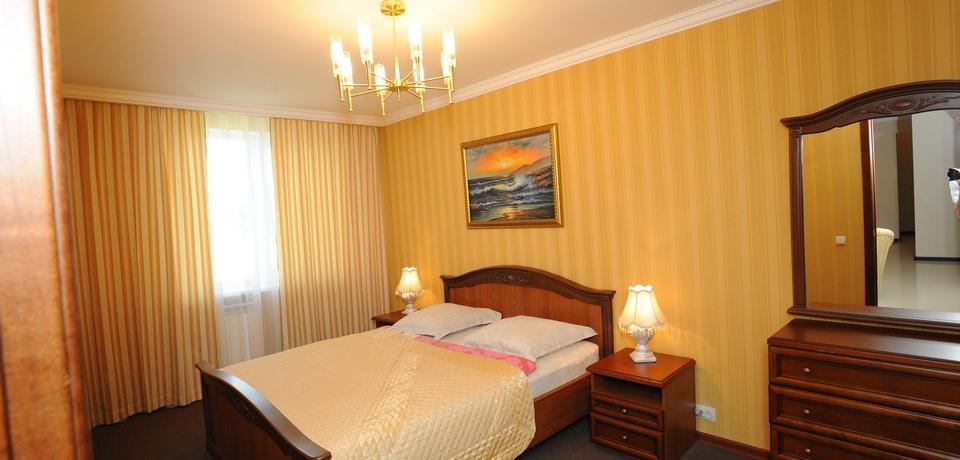 Квартира №11. Спальня. Тип квартиры - VIP. Этаж 3