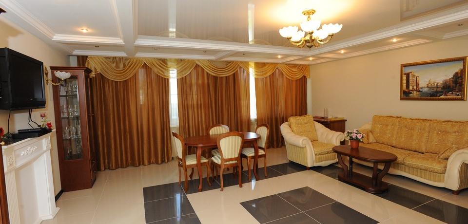 Квартира №11. Гостинная - фото 2. Тип квартиры - VIP. Этаж 3