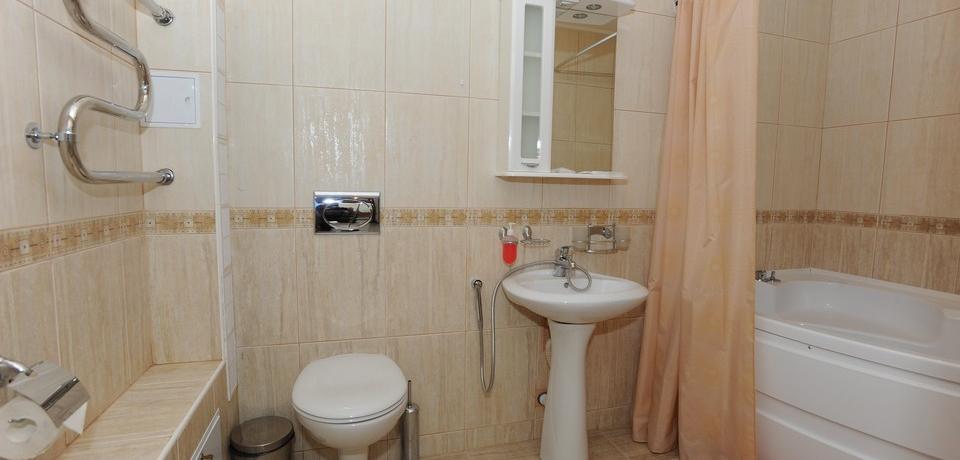 Квартира №11. Санузел. Тип квартиры - VIP. Этаж 3