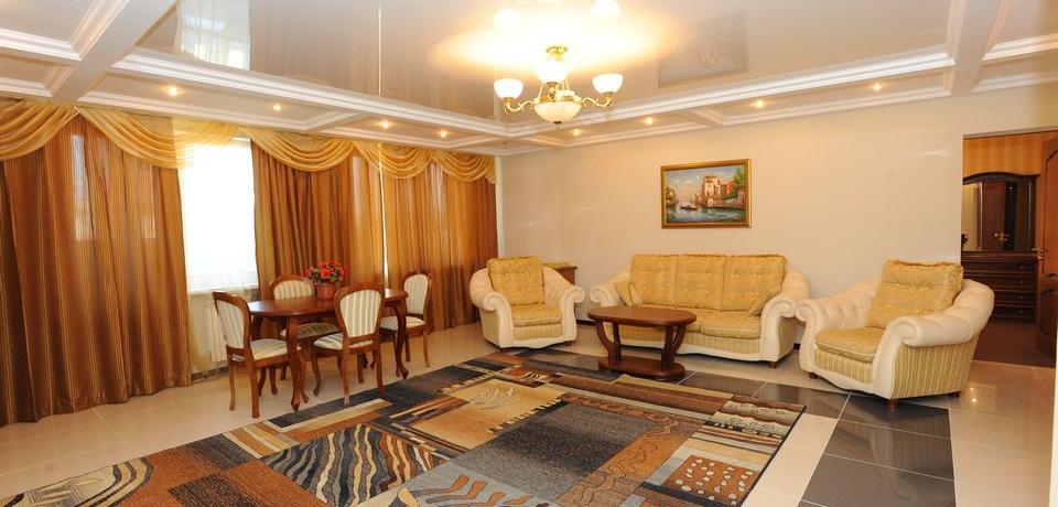 Квартира №15. Гостинная. Тип квартиры - VIP. Этаж 4