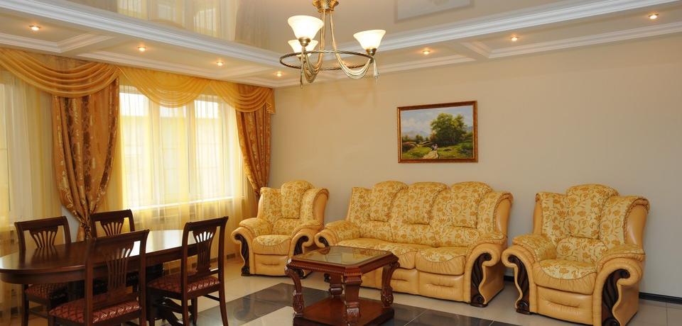 Квартира №3. Гостинная. Тип квартиры - VIP. Этаж 1