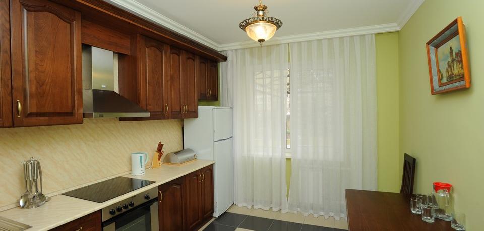 Квартира №3. Кухня. Тип квартиры - VIP. Этаж 1