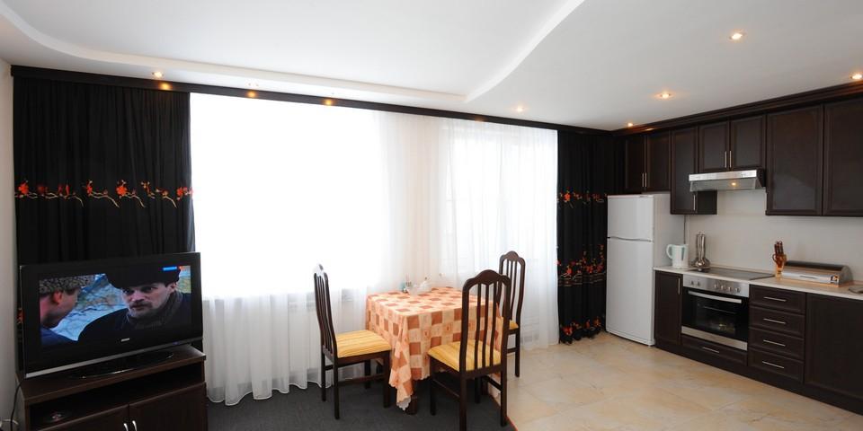 Квартира №10. Кухня. Тип квартиры - ЛЮКС. Этаж 3
