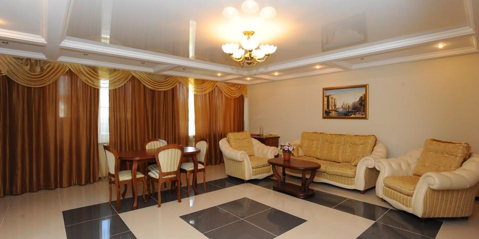 Квартира №11. Гостинная. Тип квартиры - VIP. Этаж 3