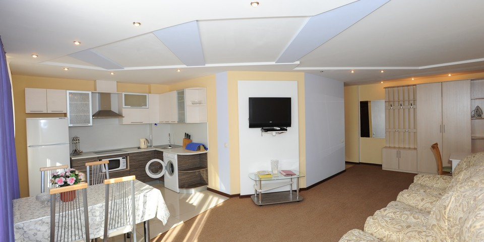 Квартира №12. Панопама. Тип квартиры - ЛЮКС. Этаж 3