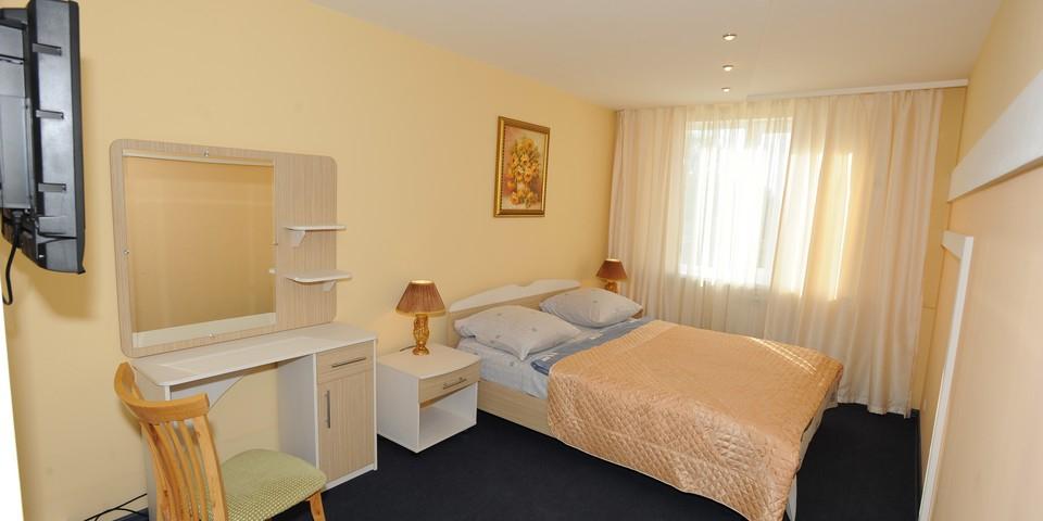 Квартира №12. Спальня. Тип квартиры - ЛЮКС. Этаж 3