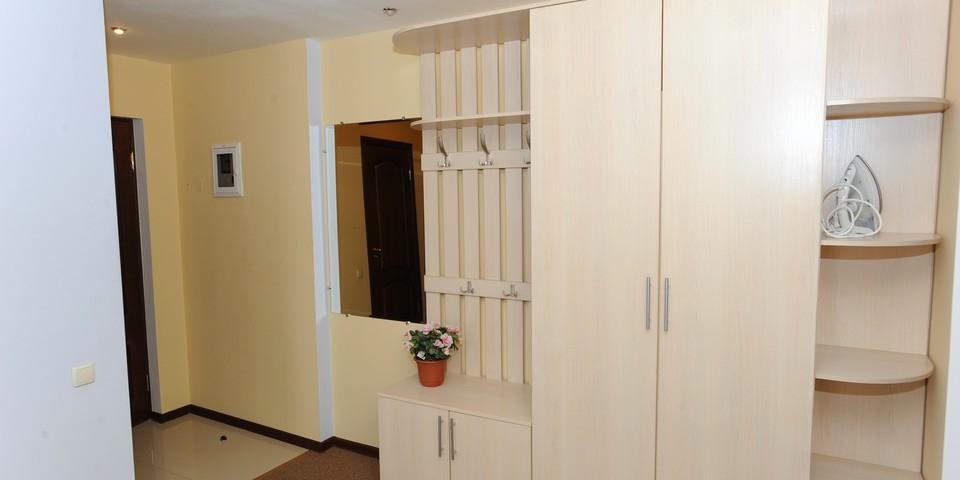 Квартира №12. Прихожая. Тип квартиры - ЛЮКС. Этаж 3