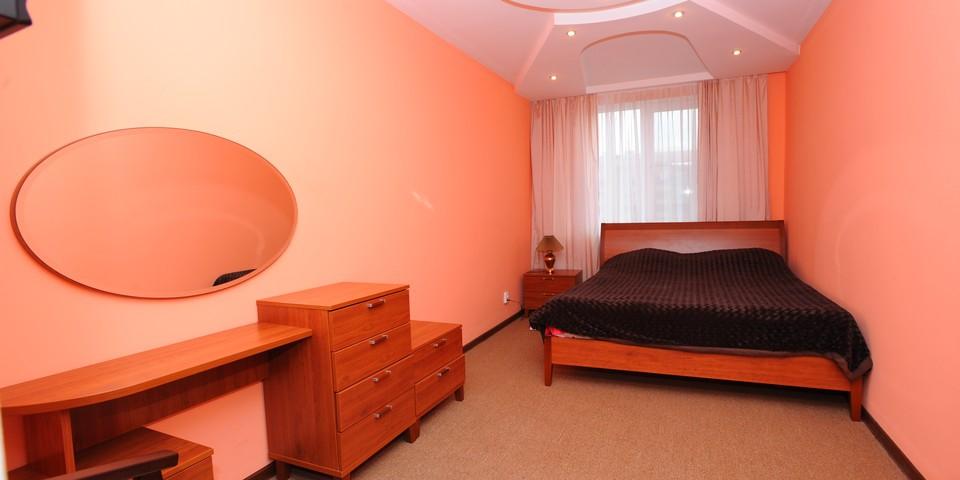 Квартира №13. Спальня. Тип квартиры - ЛЮКС. Этаж 4