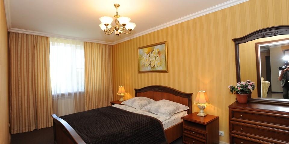 Квартира №15. Спальня. Тип квартиры - VIP. Этаж 4