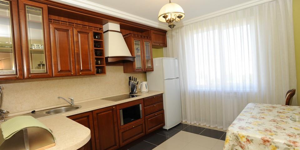 Квартира №15. Кухня. Тип квартиры - VIP. Этаж 4