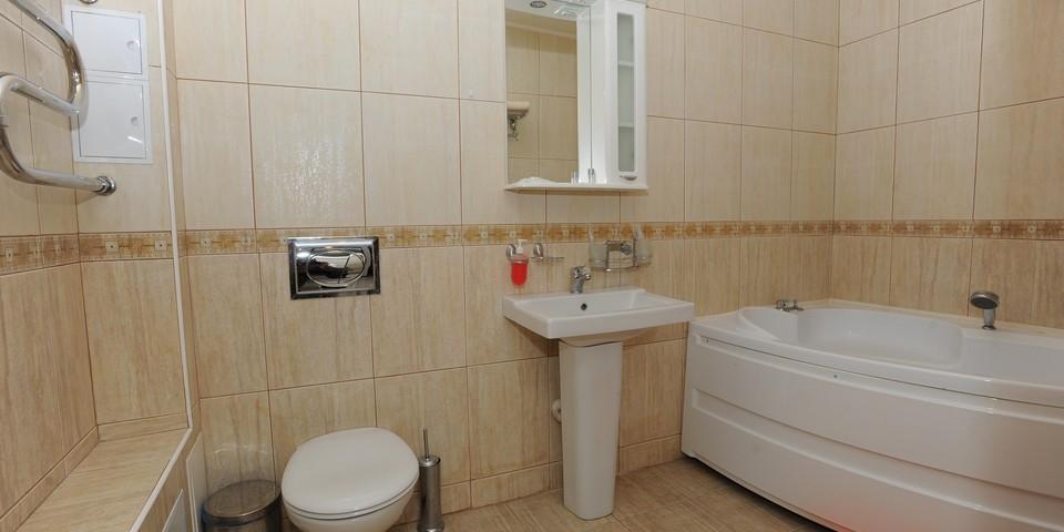 Квартира №15. Санузел. Тип квартиры - VIP. Этаж 4