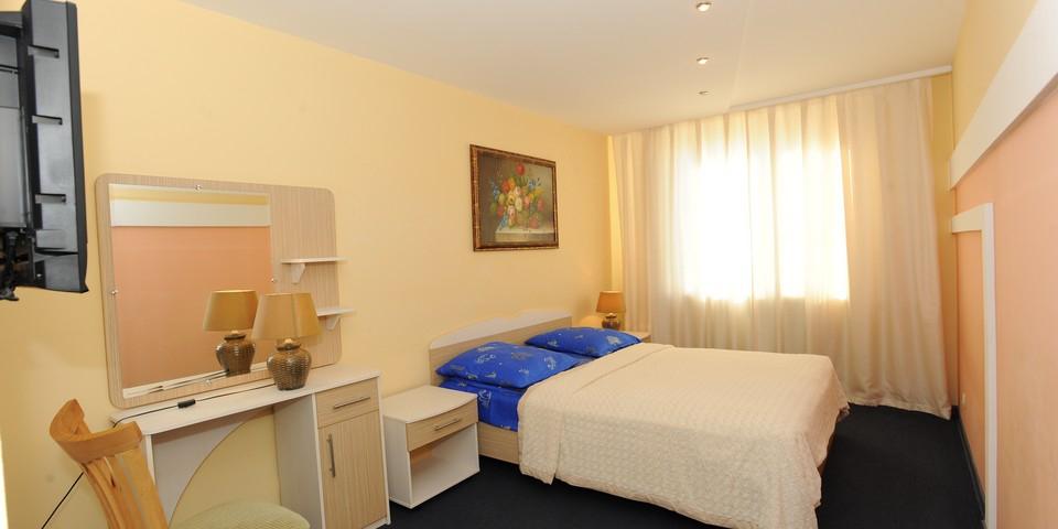 Квартира №16. Спальня. Тип квартиры - ЛЮКС. Этаж 4