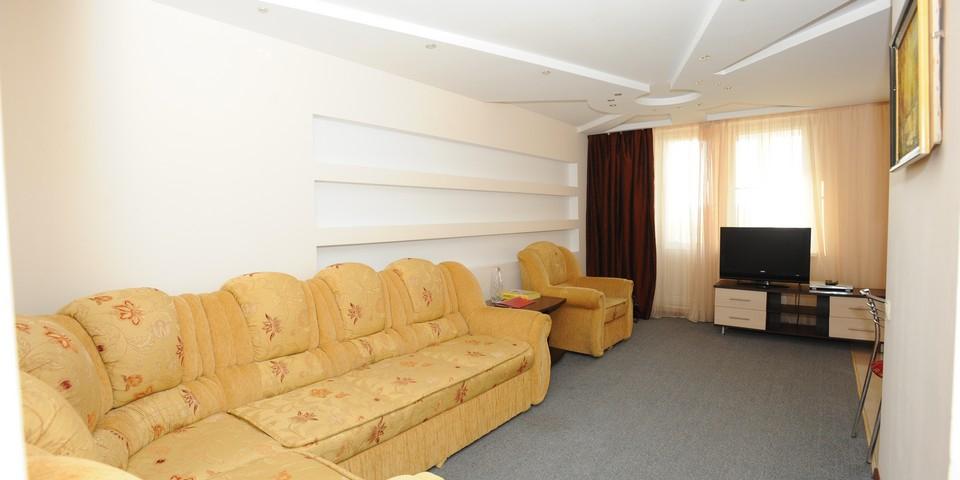 Квартира №21. Гостинная. Тип квартиры - ЛЮКС. Этаж 6