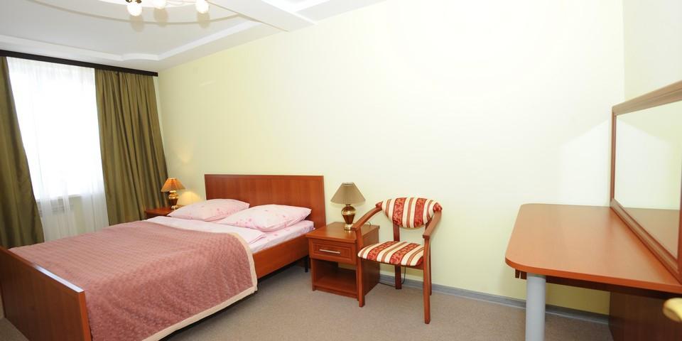 Квартира №21. Спальня. Тип квартиры - ЛЮКС. Этаж 6