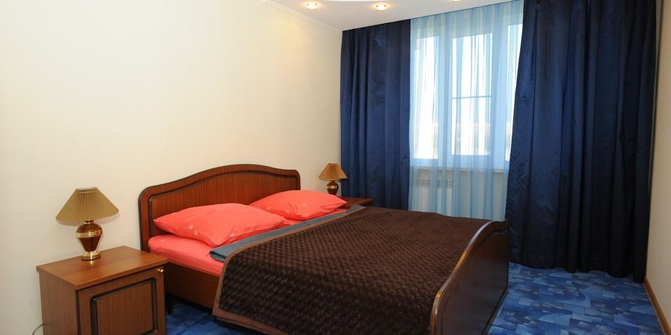 Квартира №23. Спальня. Тип квартиры - ЛЮКС. Этаж 6