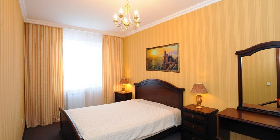 Квартира №3. Спальня . Тип квартиры  - VIP. Этаж 1