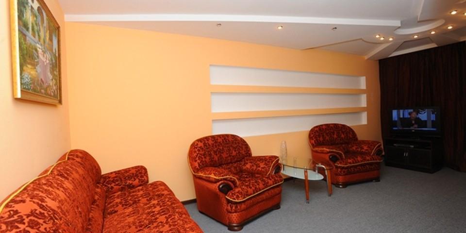 Квартира №5. Гостинная. Тип квартиры - ЛЮКС. Этаж 2