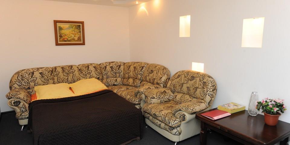 Квартира №6. Спальня. Тип квартиры - ЛЮКС. Этаж 2