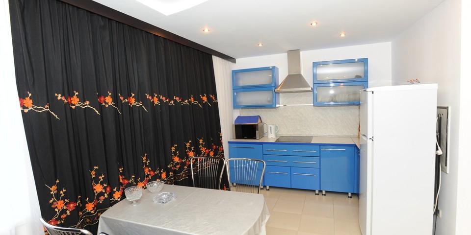 Квартира №6. Кухня. Тип квартиры - ЛЮКС. Этаж 2