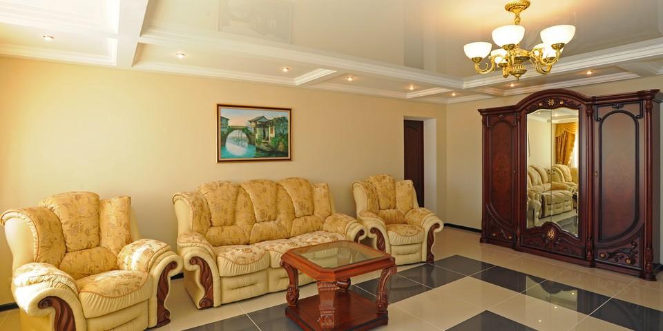 Квартира №7. Гостинная. Тип квартиры - VIP. Этаж 2