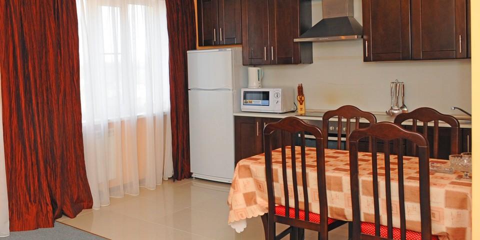Квартира №9. Кухня. Тип квартиры - ЛЮКС. Этаж 3