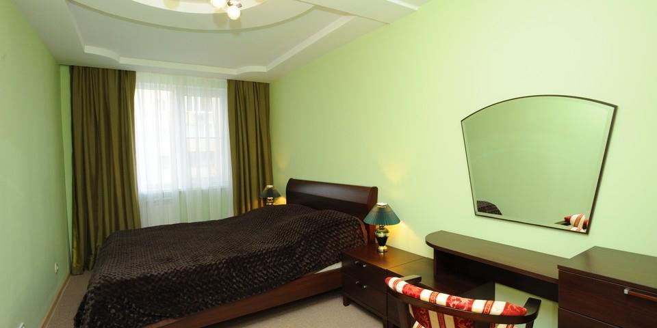 Квартира №9. Спальня. Тип квартиры - ЛЮКС. Этаж 3